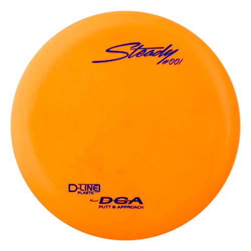 DGA D-line Steady Putter & Approach Golf Disc, (170-176g)