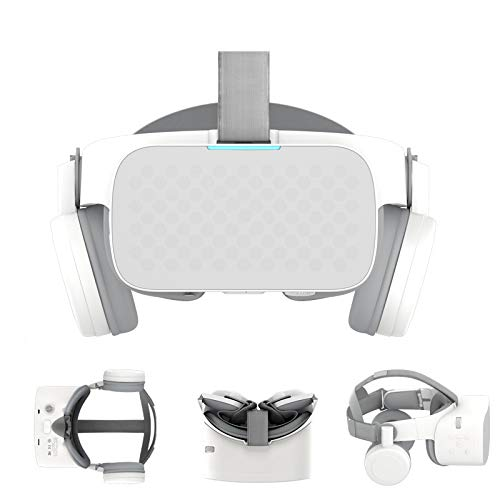 Virtual Reality Brille, All in One Vr Binocular 2.5K Hd Vr Headset Android 3D-Brille Helm Fesselnde 5,5-Zoll-LCD WiFi Bt4.2