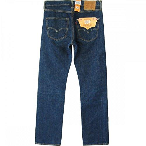 Levi's Herren Straight Leg Jeanshosen Blau - Line Dry