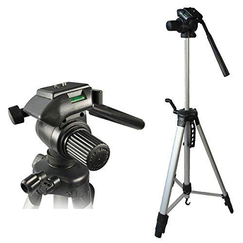 Kamera Stativ 360° 3D Dreibeinstativ mit Wechselpatte und Tasche Höhenverstellbar Universal passend für alle Digitalkamera Spiegelreflexkamera sowie Camcorder 65-164cm Passend für Canon Nikon Sony Pentax Olympus Top Qualität