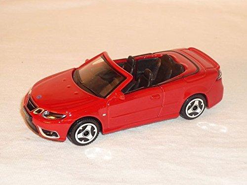saab-93-9-3-cabrio-rot-cabriolet-1-43-bburago-burago-modellauto-modell-auto