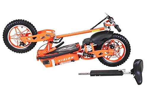 E-Scooter Roller Original E-Flux Vision mit 1000 Watt 36 V Motor Elektroroller E-Roller E-Scooter in vielen Farbe (orange) - 3