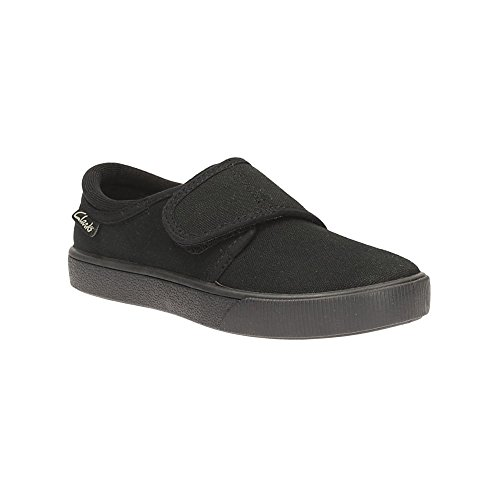 clarks-boys-seasonal-hopper-run-textile-plimsolls-in-black-wide-fit-size-105