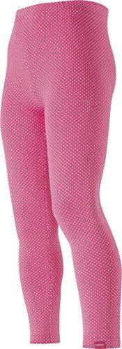 Playshoes Mädchen Legging mit Punkten, gepunktet, Oeko-Tex Standard 100, Gr. 110, Rosa (pink 18)