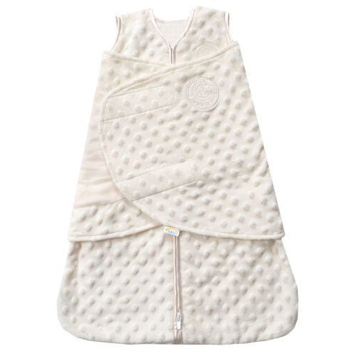 Halo Sleepsack Swaddle - Crème Dot - Newborn