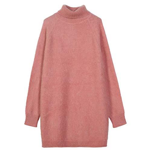 Bluse Womens Clothing (TK-Women's clothing Damen Stehkragenpullover Hochwertiger Strickpullover Mode Europäische Straße Raglan Ärmel Winter Bottoming Shirt)