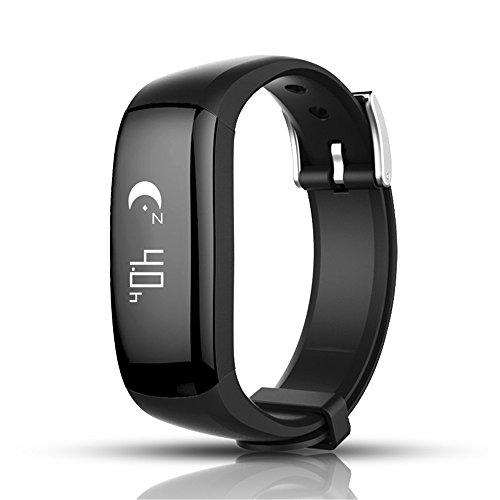Fitness Tracker, Zhixie Tracker Smart braccialetto attività Tracker Bluetooth contapassi con Sleep monitor Smartwatch per iPhone 77Plus 6Samsung S8e altri smartphone Android o iOS