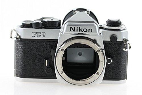 Nikon FE2 FE-2 FE 2 silber silver Body Gehäuse SLR Kamera Spiegelreflexkamera