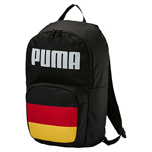 Puma World Cup Non-Licensed Fan Backpack Mochila, Unisex Adulto, Puma Negro/(Germany), Talla Única