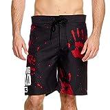 Pantaloncini da Bagno Walking Dead Dead Blood Hands Elbenwald Nero - M