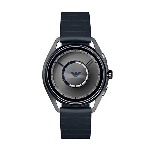 Emporio Armani Reloj Hombre de Digital con Correa en Caucho ART5008