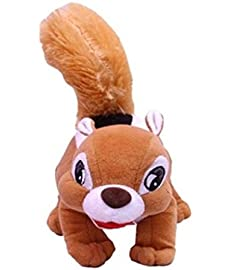 Deals India Beige Squirrel Soft Toy 30 Cm