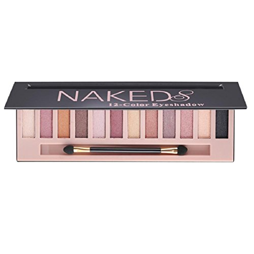 Fard à paupières,Culater Maquillage cosmétique chatoyante Matte Naked 12 couleurs ombre palette Sombras (B)