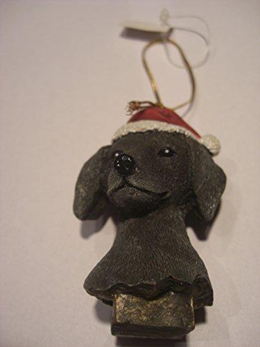 """Choclate Labrador Christmas Ornament"" Figur Baumschmuck"