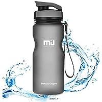 MIU COLOR 600ml Bouteille d'eau Gourde de Sport Plastique Non-Toxique Écologique sans BPA