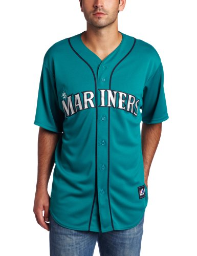 Majestic Seattle Mariners Replica Baseball MLB Trikot Alternate Northwest Green XL