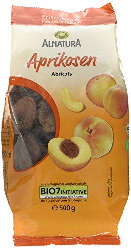 Alnatura Bio Aprikosen getrocknet ohne Stein, 500 g