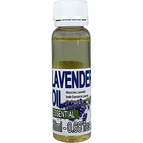 Pure Olio Essenziale di LAVANDA (Lavandula hybrida Super) 100% puro,