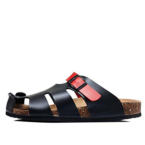 Wind England Cork Pantoffeln/Sommersandalen und Hausschuhe/Freizeitschuhe für Männer und Frauen/Liebhaber skid Schuhe A