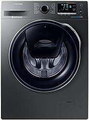 Samsung 9 Kg 1400 RPM Front Load Washing machine with Add Wash, Inox - WW90K6410QX/GU, 1 Year Warranty