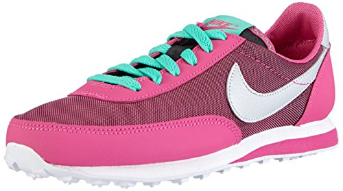 Nike - Elite (GS), Sneakers per bambine e ragazze Nero (Schwarz (Black/Metallic Platinum-Hot Pink-Mint))