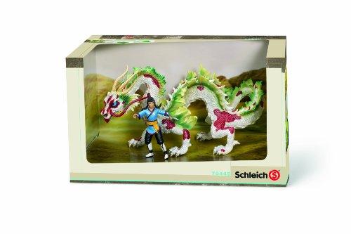 Imagen principal de Schleich 70446 Auruun - Figuras de guerrero y dragón