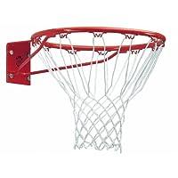 Sure Shot261 - Aro de baloncesto con red, color rojo y blanco