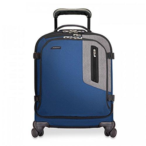 Briggs & Riley BRX Explore International Wide-Body Spinner, 55cm, 39.7 litres, Blue Equipaje de mano, 53 cm, liters, Azul (Blue)