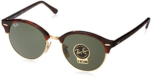 Ray-Ban - Mod. 4246 - Lunettes De Soleil Unisex-Adult, red havana (red havana), taille 51