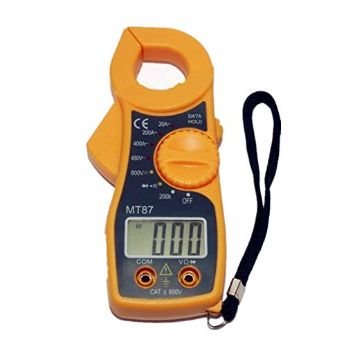 Lcd Table Stand (Handheld Digital Multimeter Electrician Common Table Power Tool Intelligent Mini Clamp Meter MT87 LCD Display Buzzer on und Off und Diode Test Funktion)