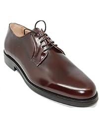 John Coleman Zapato de Cordones Pala Lisa EN Piel de Becerro Para Hombre  Color Burdeos 8de4c8366eea
