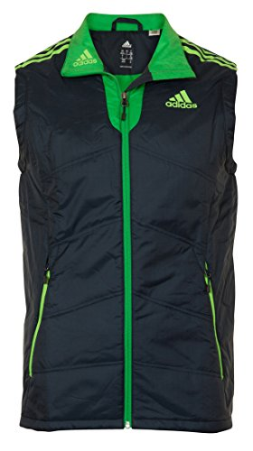 adidas PL Vest Herren Ski/Golf/Fussball Weste, Marineblau, Gr��e UK 46/48