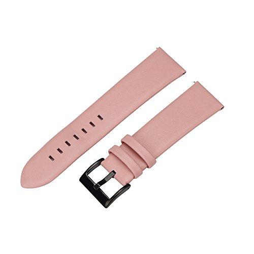 Armbanduhr Ersatz Band, happytop Leder Sporting Armband Armband Handgelenksschlaufe für Samsung Gear S3Frontier S rose (Jugend-fußball-uhr)