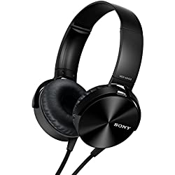 Sony MDR-XB450 On-Ear EXTRA BASS Headphones (Black)