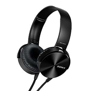 Sony MDR-XB450 On-Ear EXTRA BASS Headphones (Black)