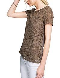 Esprit Mit Spitze, T-Shirt Femme