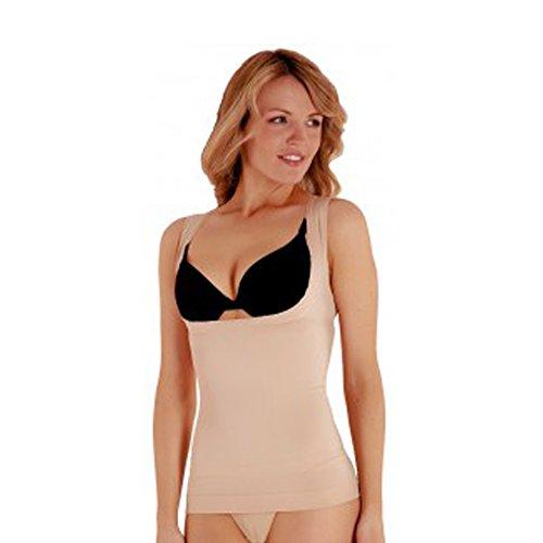 Bodyfit -  Maglia modellanti  - Basic - Donna Nude
