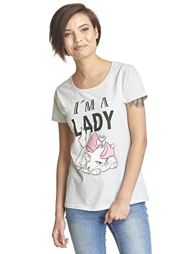 Aristocats Marie - I'm A Lady Girl-Shirt grau -