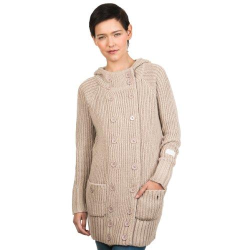 Gilet en tricot pour femme nikita forseti cardigan pour femme - silica