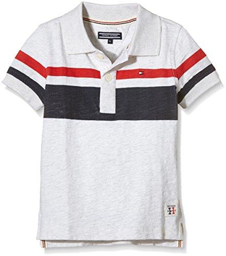 Tommy-Hilfiger-Steve-Jersey-Htr-Polo-SS-Camisa-para-Nios