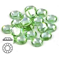 Tamis Place Cristal Strass Plat 144Swarovski 4,8mm Taille 20ss 4,8mm Chrysolite