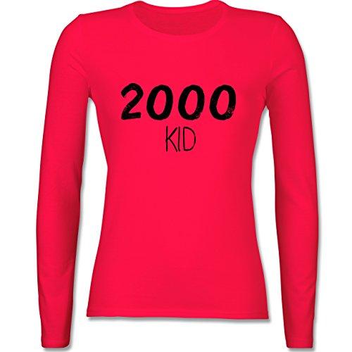 Geburtstag - 2000 KID - tailliertes Longsleeve / langärmeliges T-Shirt für Damen Rot