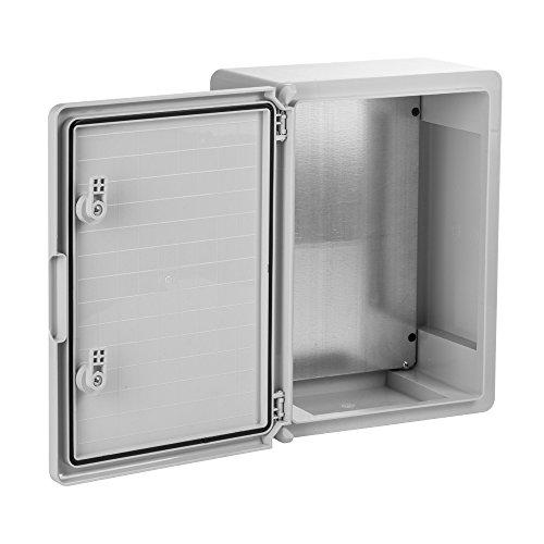 Schaltschrank 30 x 40 x 22 cm verzinkt Montageplatte ABS Kunststoff IP65 300 x 400 x 220 mm - 5
