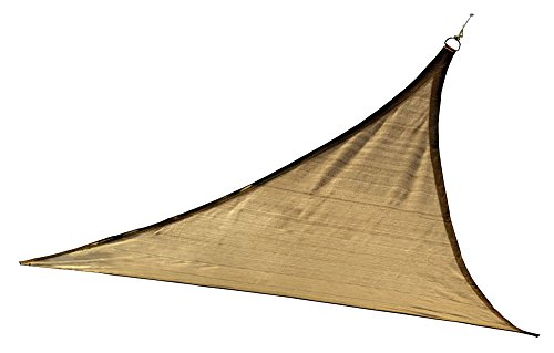 ShelterLogic Triangle Soleil Voile d'ombrage, Sable, Sable