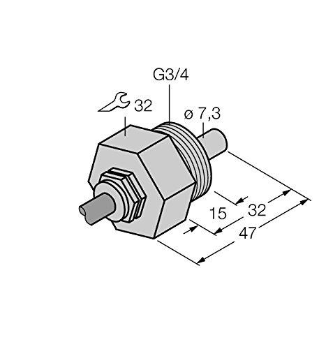 6870463-FCS G3/4a4naex/D100, strömung Surveillance eintauch Capteur