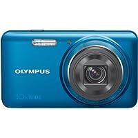 Olympus VH-520 Kompaktkamera (7,6 cm (3 Zoll) LCD-Display CMOS-Sensor, 14 Megapixel, 10-fach opt. Zoom, Full HD, HDMI, USB 2.0) blau