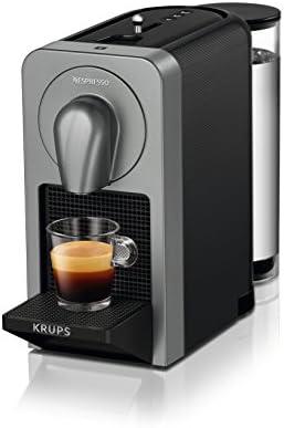 Nespresso DeLonghi Prodigio EN170S - Cafetera de cápsulas, color plata