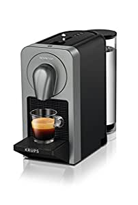 Krups XN 410 T 1cups Espresso machine Titanium - coffee makers (Freestanding, Espresso machine, Coffee capsule, Espresso, Lungo, Ristretto, Titanium, Cup)
