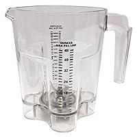 Waring Stackable Polycarbonate Blender Jar with Blade, 32-48 oz