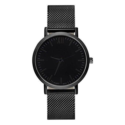 Unisex Damen Männer Uhren,Männer Frauen Retro Ultra Dünne Armbanduhren Lederband Analog Zifferblatt Quarz Armbanduhr Einfache Geschäft Luxus Uhren Quarzuhr für Frauen herrenuhr